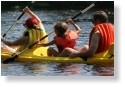 Kayaking on the Withlacoochee is fun for the whole family.