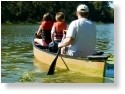 Riverside RV Park Canoe Rental.  Canoing to the Iron Bridge on the Withlacoochee River.