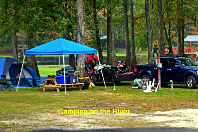 Camping at Riverside RV Park is one of the fun options - within a few hundred yards of Nobleton Canoe, hiking, biking, fishing - you can do it all in a weekend right here!