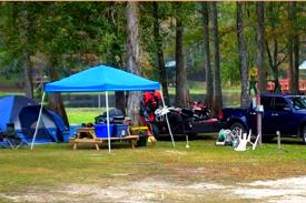 Set up tents and camp at the Riverside RV Park any time you're in the area. Fun for all the family with lots of nothing but the beautiful outdoors!
